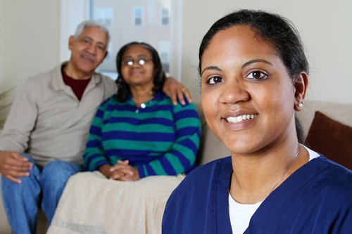 an image of a caregiver with employment with Vancouver Island Caregivers